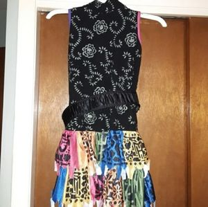 🎉**$12.Flash sale**MH girls 10-12 Skelita costume
